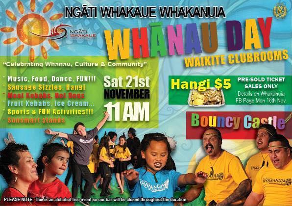 Whakanuia Whanau Day